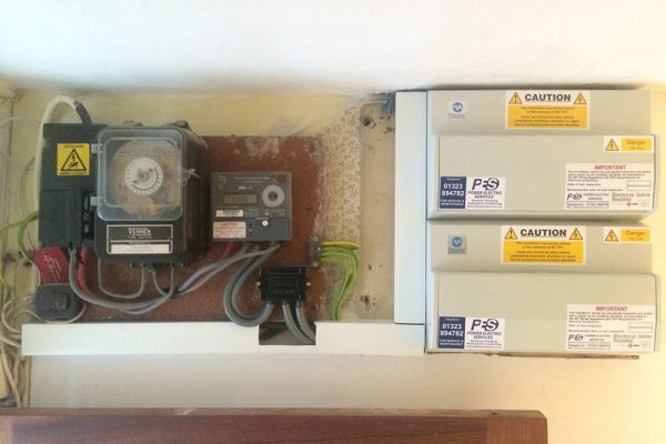 Domestic fuse board
